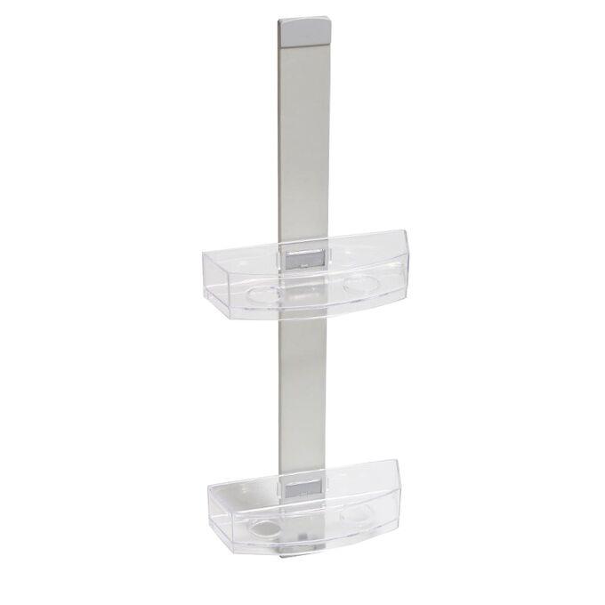 Ραφιέρα Μπάνιου 2όροφη 25x9x68.5cm 0.64kg Αλουμίνιο-Πλαστικό