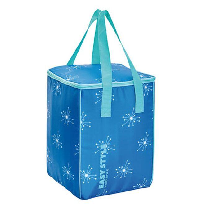 GIOSTYLE ITALY Ισοθερμική Τσάντα 26.7x26x36.7cm Πάχος 4mm 30lt Πολυεστέρας 70D MAX Απόδοση 10 Ώρες Πιστοποίηση REACH EASY STYLE VERTICAL Μπλε