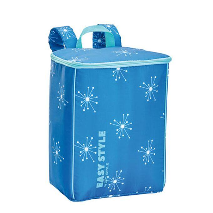 GIOSTYLE ITALY Ισοθερμική Τσάντα Πλάτης 26.7x17x35cm Πάχος 4mm 15lt Πολυεστέρας 70D MAX Απόδοση 10 Ώρες Πιστοποίηση REACH EASY STYLE BACKPACK Μπλε