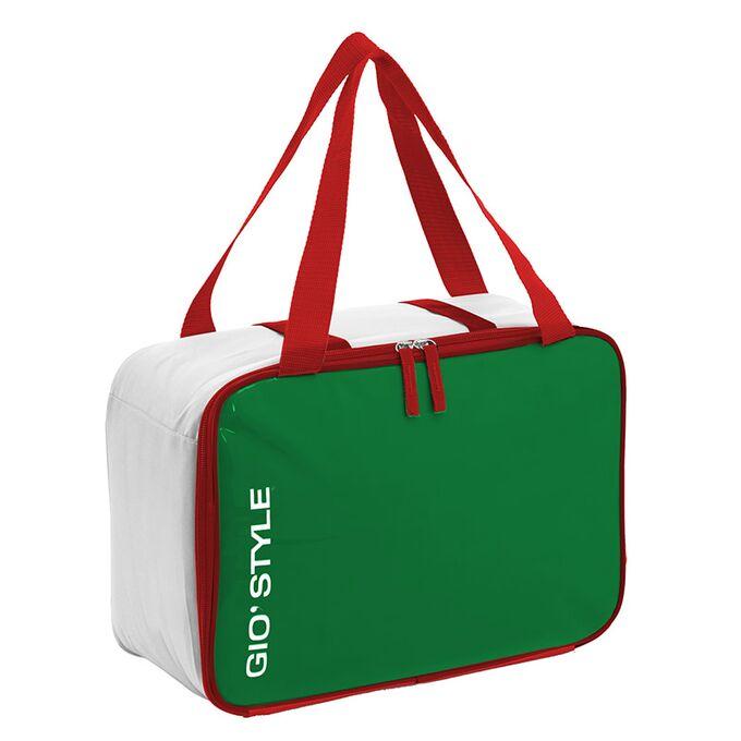 GIOSTYLE ITALY Ισοθερμική Τσάντα 36x15x26cm Πάχος 10mm 15.5lt Πολυεστέρας 420D MAX Απόδοση 16 Ώρες Πιστοποιήσεις Azo FREE/REACH DOLCE VITA COOLBAG
