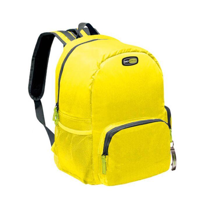 GIOSTYLE ITALY Ισοθερμική Τσάντα Πλάτης 26x18x40cm Πάχος 10mm 17lt Πολυεστέρα 420D MAX Απόδοση 15 Ώρες Πιστοποιήσεις Azo FREE/REACH VELA BACKAPACK Κίτρινο