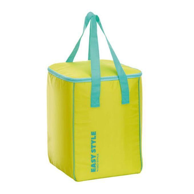 GIOSTYLE ITALY Ισοθερμική Τσάντα 26.7x26x36.7cm Πάχος 4mm 30lt Πολυεστέρας 70D MAX Απόδοση 10 Ώρες Πιστοποίηση REACH EASY STYLE VERTICAL Λαχανί