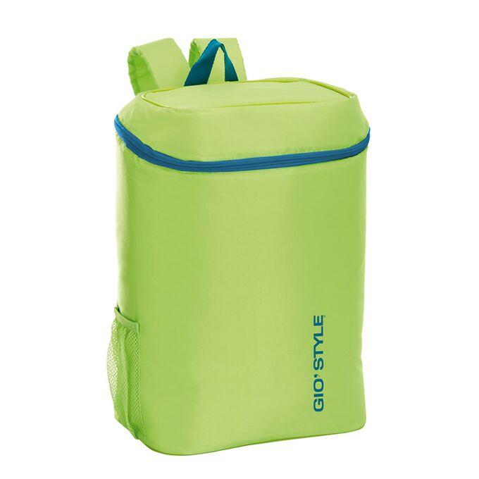 GIOSTYLE ITALY Ισοθερμική Τσάντα Πλάτης 28x20x37cm Πάχος 6mm 20lt Πολυεστέρας 120D MAX Απόδοση 11 Ώρες Πιστοποιήσεις Azo FREE/REACH FRIO BACKPACK Πράσινο