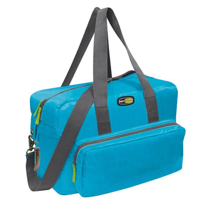 GIOSTYLE ITALY Ισοθερμική Τσάντα 40x18x28cm Πάχος 10mm 22lt Πολυεστέρας 420D MAX Απόδοση 18 Ώρες Πιστοποιήσεις Azo FREE/REACH VELA+ MEDIUM Γαλάζιο
