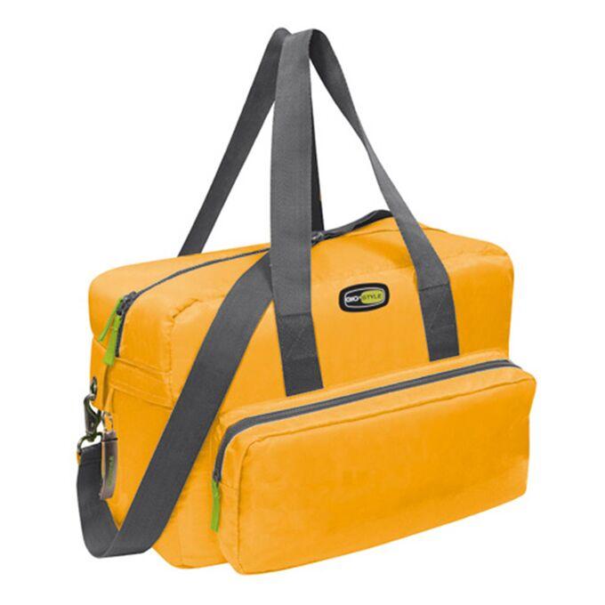GIOSTYLE ITALY Ισοθερμική Τσάντα 40x18x28cm Πάχος 10mm 22lt Πολυεστέρας 420D MAX Απόδοση 18 Ώρες Πιστοποιήσεις Azo FREE/REACH VELA+ MEDIUM Πορτοκαλί