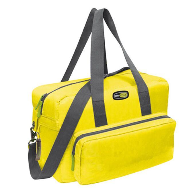 GIOSTYLE ITALY Ισοθερμική Τσάντα 40x18x28cm Πάχος 10mm 22lt Πολυεστέρας 420D MAX Απόδοση 18 Ώρες Πιστοποιήσεις Azo FREE/REACH VELA+ MEDIUM Κίτρινο