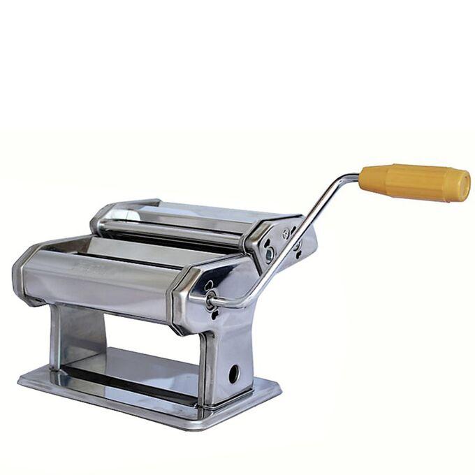 SHULE Μηχανή Φύλλου και Ζυμαρικών INOX 24.5x20x16cm Διαιρούμενη Max Πλάτος Ζύμης 18cm Βάρος 3.2kg