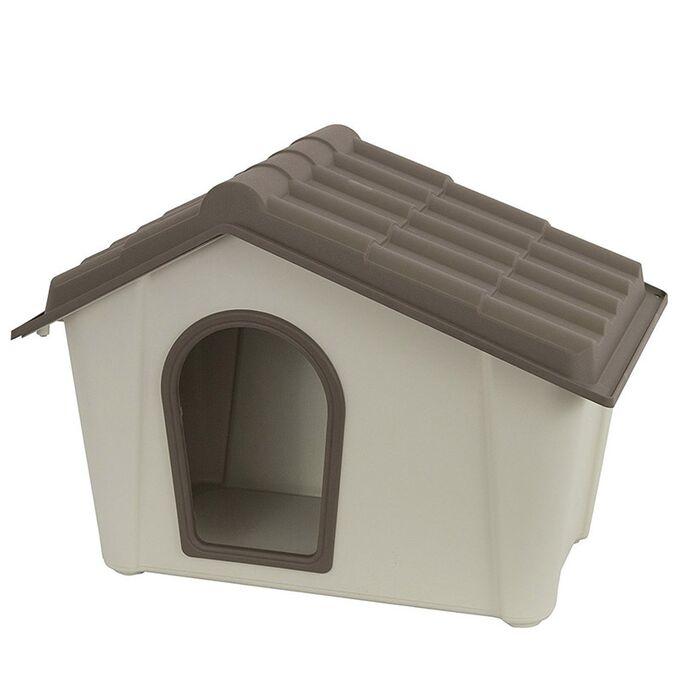 ARTPLAST ITALY Σπίτι Σκύλου 57x40x42.5cm SMALL 3kg Μπεζ/Καφέ