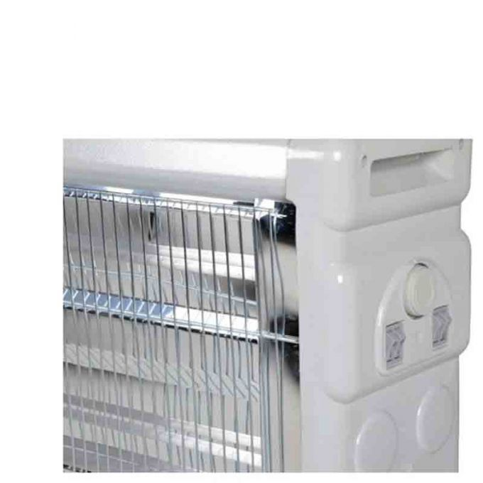 Σόμπα Χαλαζία 2400W 76.5x26x61.5cm με Υγραντήρα Θερμοστάτη και Ανεμιστήρα Ρυθμιζόμενη Θερμοκρασία 220-230V 8kg SAMDAN 3000