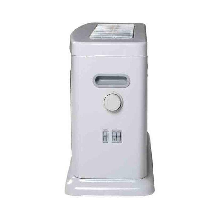 Σόμπα Χαλαζία 2200W 56x25x40cm με Θερμοστάτη Ρύθμιση Θερμοκρασίας 220-230V 4kg SAMDAN 3007