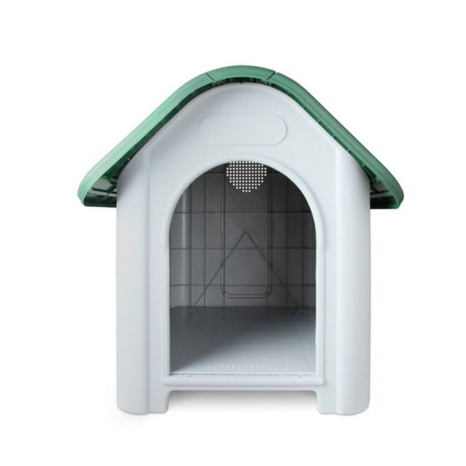VESTA Σπίτι Σκύλου Large 72x87x75.5cm 8.6kg Λευκό Πάγου-Πράσινο
