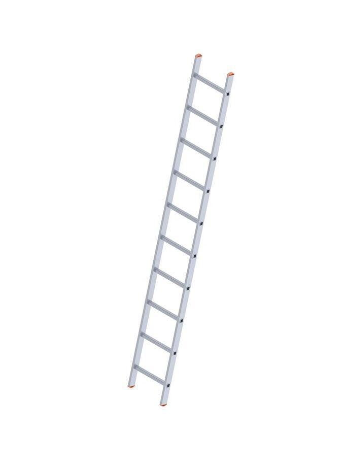 Σκάλα Αλουμινίου 1x11 Σκαλιά Επαγγελματική 301cm Μονή 4.80kg Αντοχή 150kg SN7111